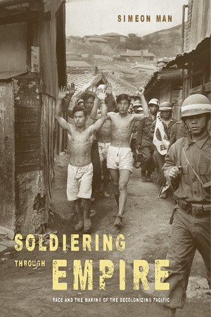 Book cover: Soldiering Through Empire