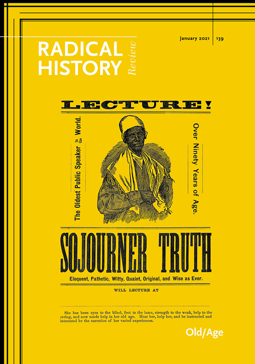 RHR Issue Number 139 Cover, picture of Sojourner Truth